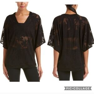 Trina Turk Recreation Island Mesh Dolman Top
